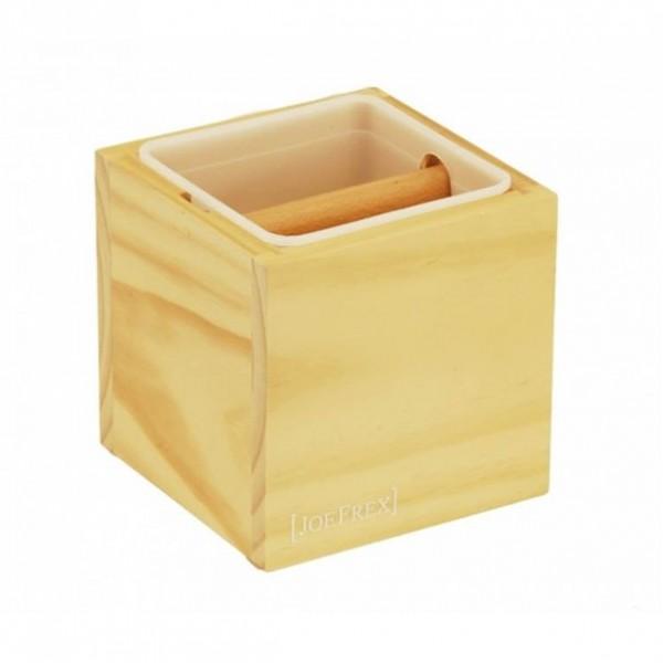 Drevený Knock box (Oklepávač na kávu) - Svetlý