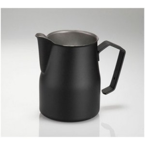 Konvička na mlieko Motta - Europa (Milk Pitcher) 500ml Čierna/Biela