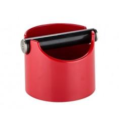 Plastový Knock box (Oklepávač na kávu) - Červený
